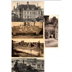 55 - VERDUN Monuments - Lot de 20 cartes postales différentes de VERDUN Monuments