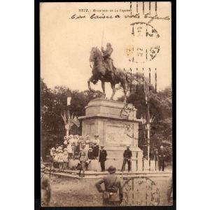 57 - METZ  (Moselle) - Monument de La Fayette