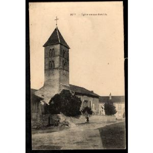 57 - MEY (Moselle) - Eglise Romane Fortifiée