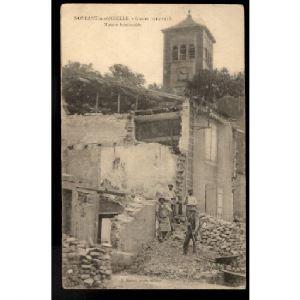 57 - NOVEANT SUR MOSELLE (Moselle) - Guerre 1914-1918 - Maison Bombardée