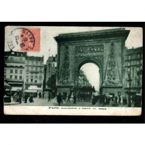 75 - PARIS - Boulevard et Porte St Denis