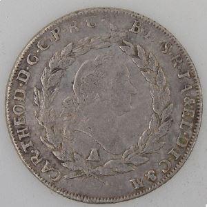 Allemagne, Bayern, 20 Kreuzer 1781, TB, KM#557.1