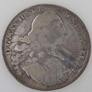 Allemagne, Bayern, Thaler 1769, TB, KM#519.1