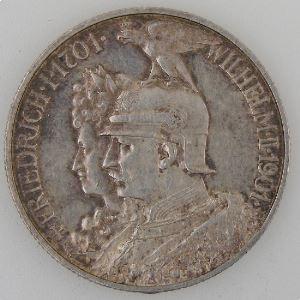 Allemagne, Preussen, 2 Mark 1901, SUP, KM#525