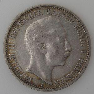 Allemagne , Preussen, 2 Mark 1902 A, TB+, KM#522.
