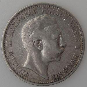 Allemagne, Preussen, 2 Mark 1903 A, TB+, KM#522