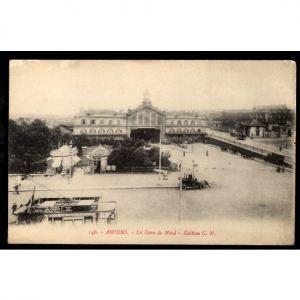 AMIENS - La Gare du Nord