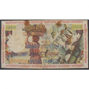 Antilles Françaises, 10 Nouveaux Francs ND 1961, G+