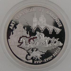 Art Classique et Baroque, 6.55957 Francs 2000, BE, KM# 1226