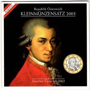 Austria, Coffret BU 2003