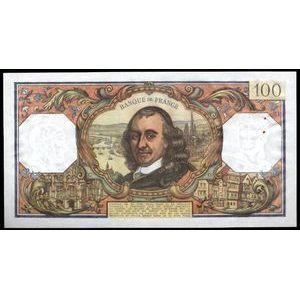 Banque de France, 100 Francs Corneille 4.5.1972, F: 65/39, SUP+