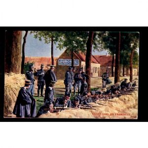 Belges dans les Tranchées - Vins DUBONNET