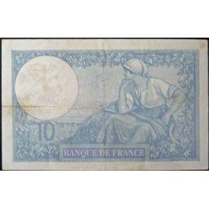 Billets français, Banque de France, 10 Francs Minerve 2-1-1941