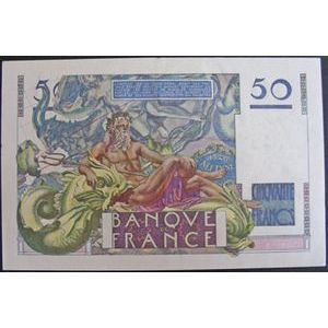 Billets français, Banque de France, 50 Francs Le Verrier 20-3-1947