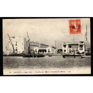 BIZERTE - Baie Ponty - Pavillon des Officiers et Caserne des Marins