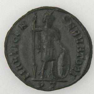 CONSTANTIN I, CONSTANTINUS I, Follis, MARTI CONSERVATORI, TTB/TTB+