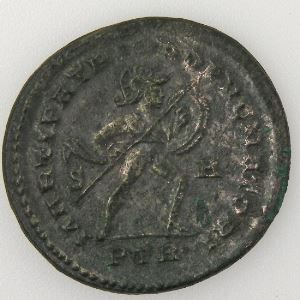 CONSTANTIN I, CONSTANTINUS I, Follis, MARTI PATRI CONSERVATORI, TTB+