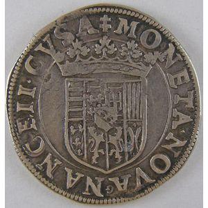Duché de Lorraine, Charles III (1545-1608), Teston, Flon P656 N°133, TB+/TTB