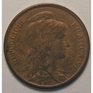 Dupuis, 1 centime 1908, TTB+, Gadoury 90