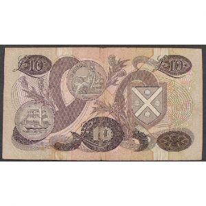 Ecosse, 10 Pounds 20.10.1986, VF