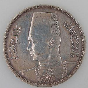 Egypte, Egypt, 10 Piastres 1939, TTB+, KM#367
