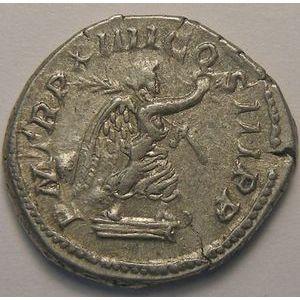 Empire romain, Caracalla, Denier, R/ P M TR P XIIII COS III P P, 3.25 Grs, TTB+