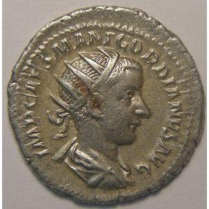 Empire romain, Gordianus III, Antoninien, R/ LIBERALITAS AVG II, 3.99 Grs, TB+/TTB