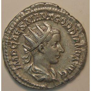 Empire romain, Gordianus III, Antoninien, R/ ROMAE AETERNAE, 4.99 Grs, TTB