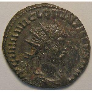 Empire romain, Quintillus, Antoninien, R/ FIDES MILITVM, 4.14 Grs, TTB