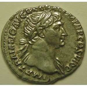 Empire romain, Trajan, Denier, R/ SPQR OPTIMO PRINCIPI, 3.28 Grs, SUP