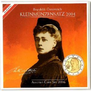 Euro, Autriche, coffret Brillant Universel 2004
