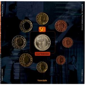 Euro, Belgique, coffret Brillant Universel 2003