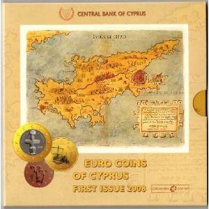 Euro, Chypre, coffret Brillant Universel 2008
