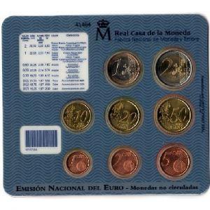Euro, Espagne, coffret Brillant Universel 2004