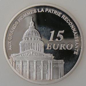 Euro, France, 15 Euro 2007 BE