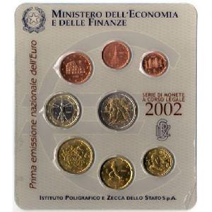 Euro, Italie, coffret Brillant Universel 2002