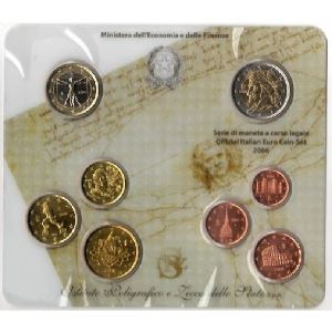 Euro, Italie, coffret Brillant Universel 2006