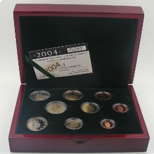Euro, Luxembourg, coffret Belle Epreuve 2004