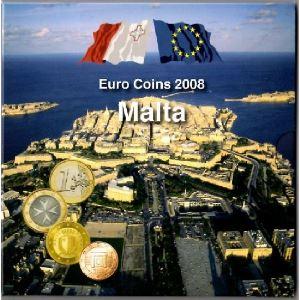 Euro, Malte, coffret Brillant Universel 2008
