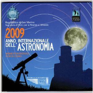 Euro, Saint Marin, coffret Brillant Universel 2009