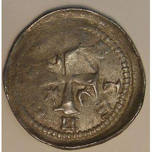 Evêché de Metz, Jean 1er d'Apremont (1224-1238), denier, Flon P212 N°1-11, TB+