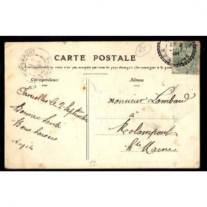 FAVEROLLES (Hte Marne) - Le Bureau de Poste