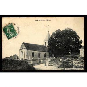 FAVEROLLES - L'Eglise