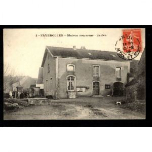 FAVEROLLES - Maison Commune - Ecoles
