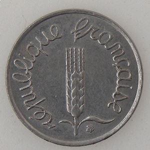 France, 1 Centime 1969 queue longue, SUP/SUP+, KM#928 .