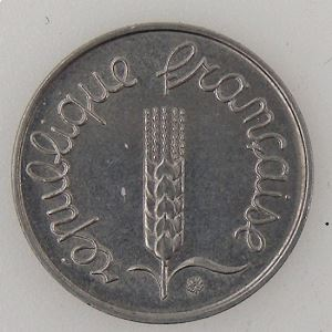 France, 1 Centime 1972, SUP, KM#928 .