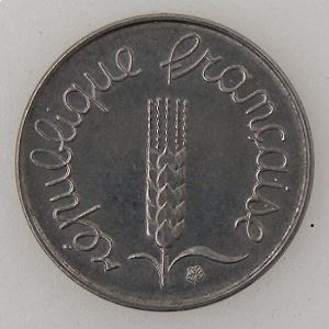 France, 1 Centime 1973,SUP/SUP+, KM#928 .