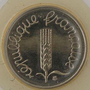 France, 1 Centime 1980, FDC , KM#928 .