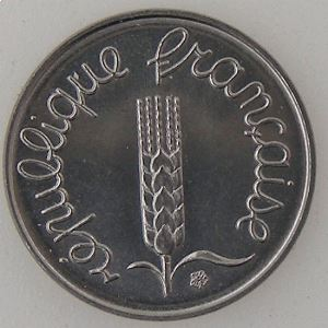 France, 1 Centime 1982, SUP+, KM#928 .