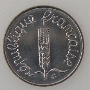 France, 1 Centime 1983, SUP+/SPL , KM#928 .